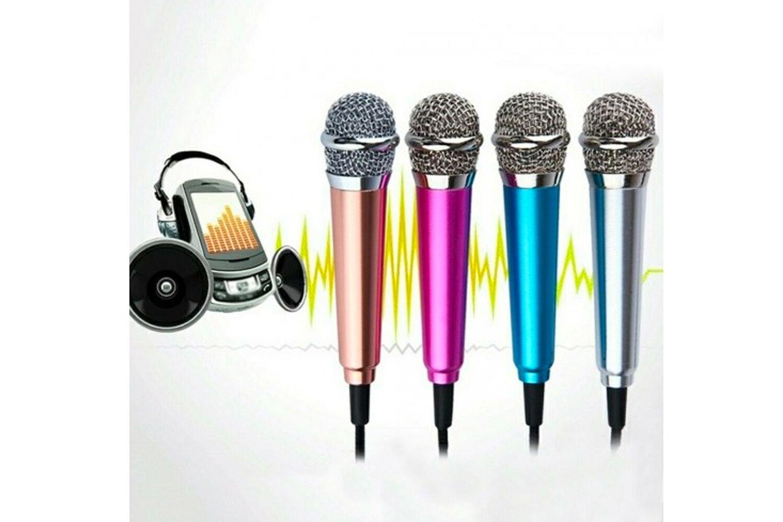 Mini karaokemikrofon