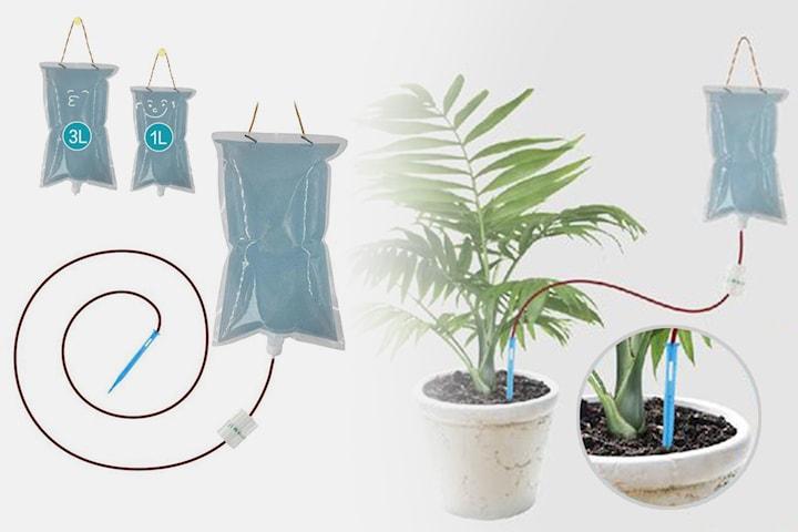 Automatiskt bevattningssystem inkl. påfyllningspåsar 3-pack