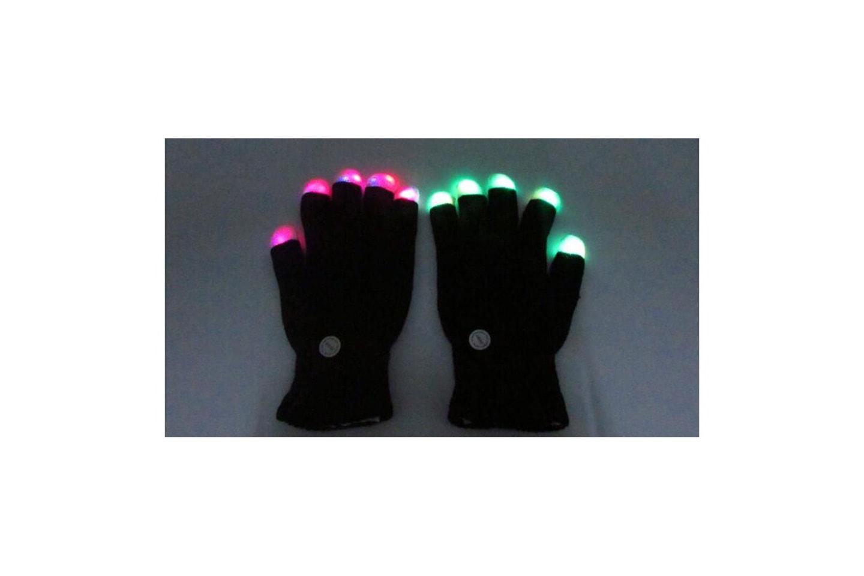Vanter med LED-fingertupper