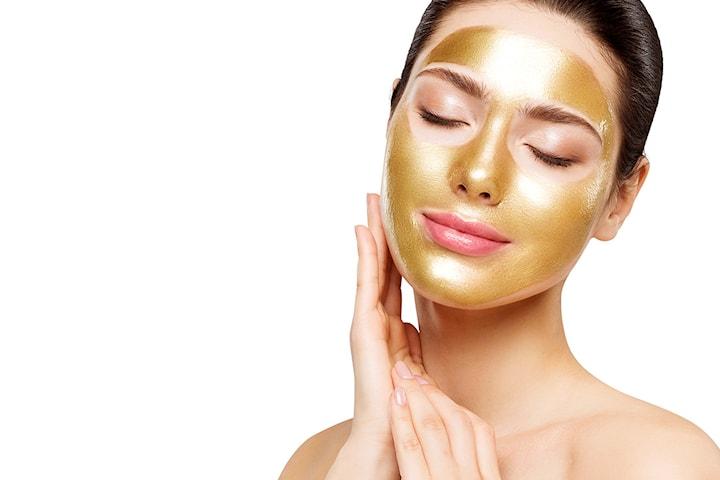 Èn til seks mesoterapibehandlinger med gullmaske hos Beauty Center Drammen