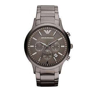 AR2454, AR2454, Armband: Grå, rostfritt stål. Urtavla: 43 mm,