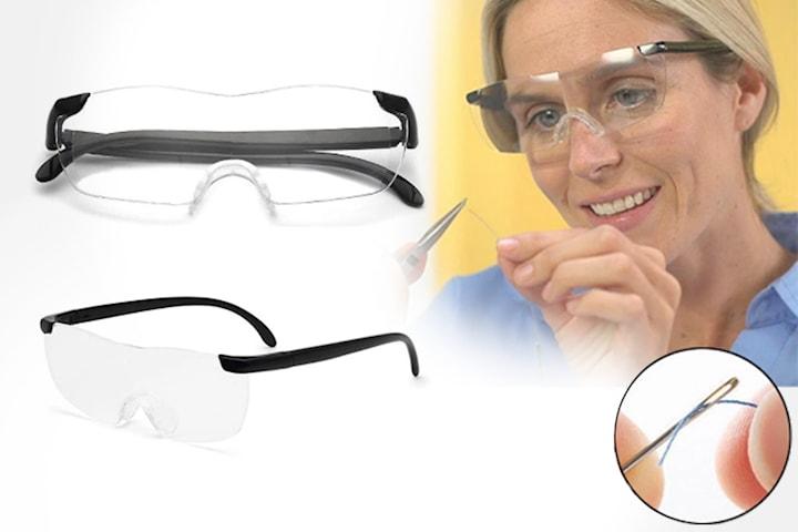 250 graders forstørrelsesbriller i unisex