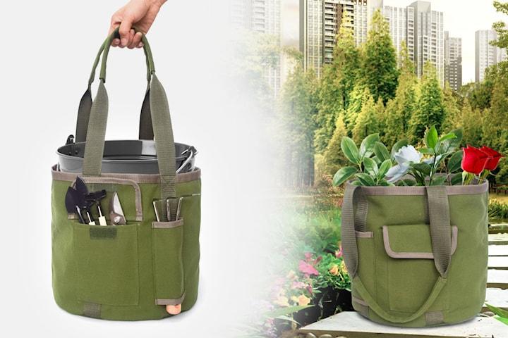Väska för trädgårdsredskap