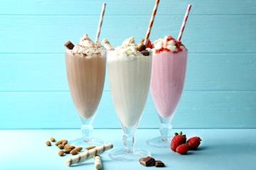 Två för en på lyxig milkshake på Andra Långgatan