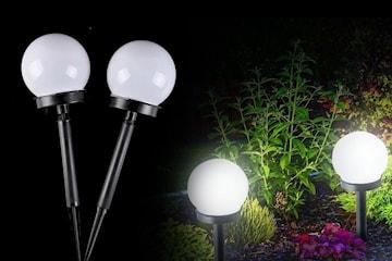 Soldriven LED-lampa 2- eller 4-pack