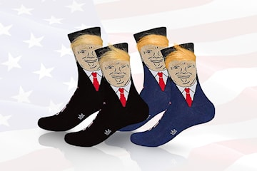 Donald Trump-strumpor 1, 2 eller 4 par