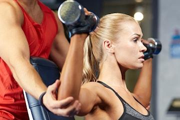 Velg mellom 8 eller 12 PT-timer hos Kim på Fitnessxpress