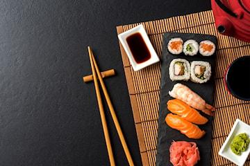 Catering for opp til 50 personer hos Sushi Namnam, gjelder alle deres fem restauranter