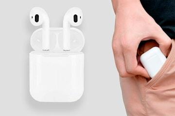 i12 TWS Trådløse earbuds inkludert ladeetui
