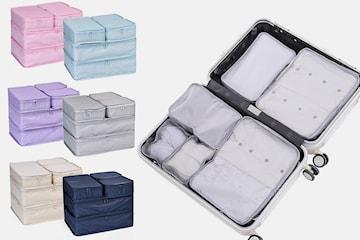 Organiseringsset för resväska 6-pack