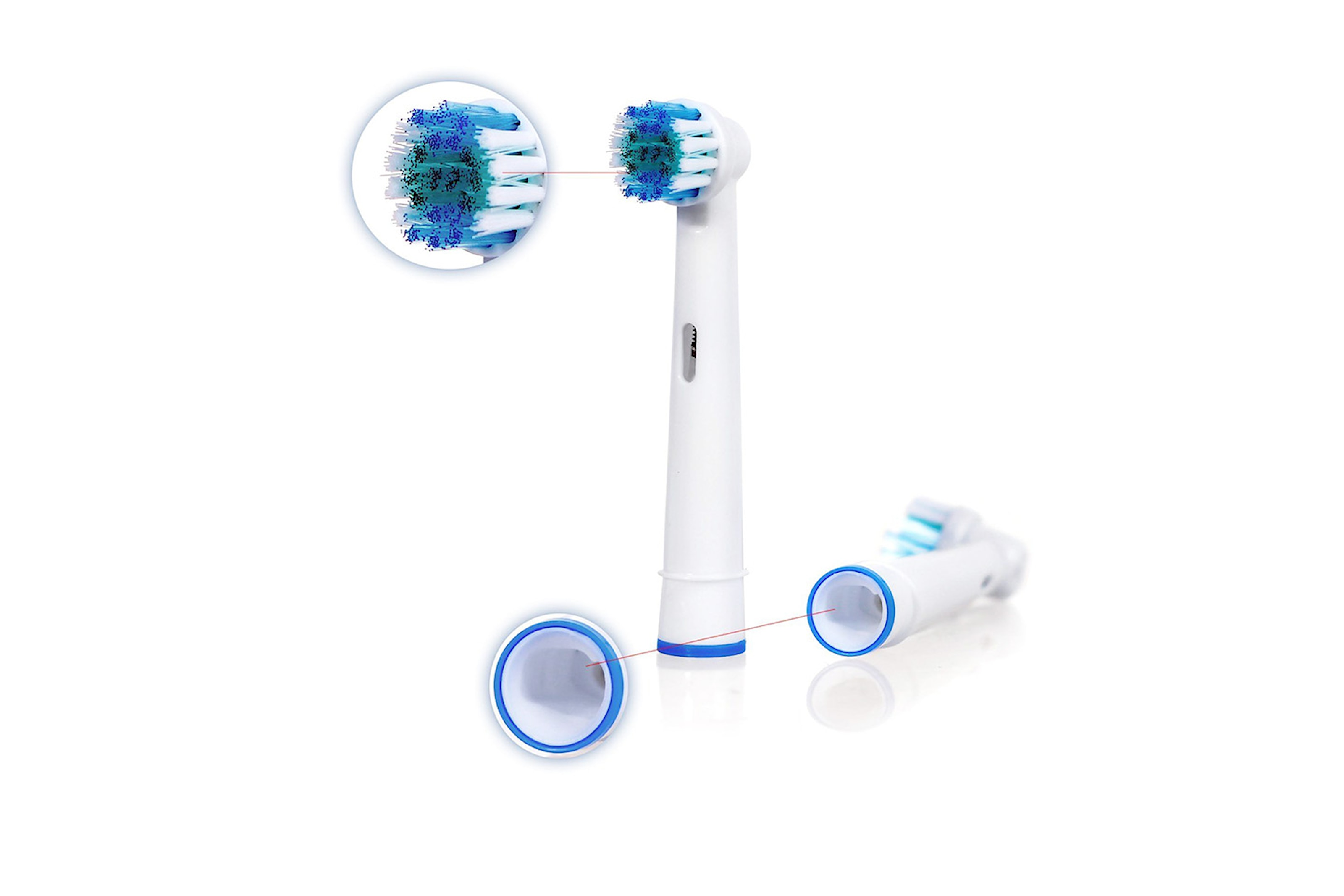 Tandborsthuvuden till Oral-B