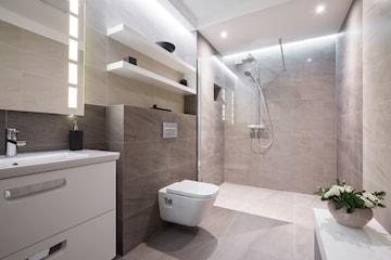 Komplett badrumsrenovering på 7 dagar