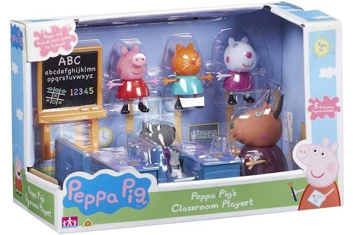 Greta Gris / Peppa Pig, Klassrum lekset