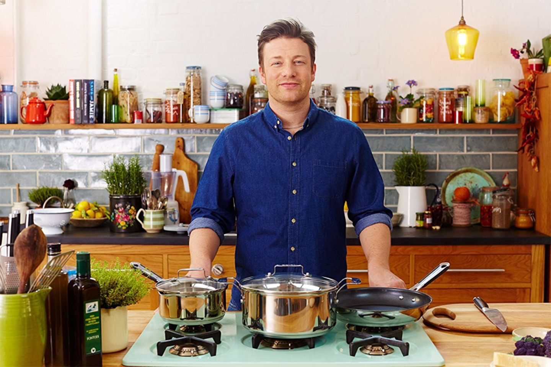 Stekpanna från Tefals Jamie Oliver-kollektion, 24 cm