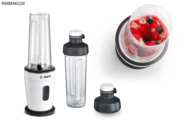Blender med praktisk 2Go-flaska från Bosch
