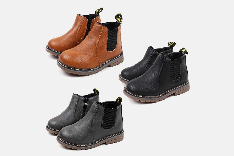 Klassiska Chelsea-boots till barn (1 av 2)