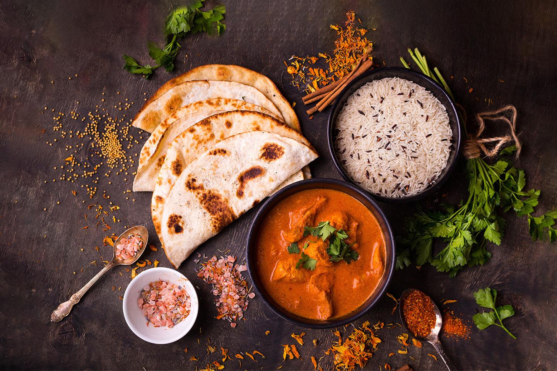 Nydelig valgfri indisk 2-retters hos Ghandi Restaurant (1 av 1)