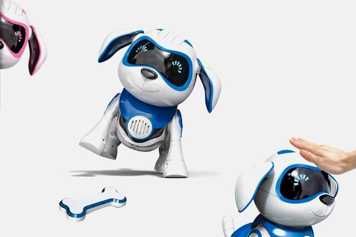 Interaktiv robothund