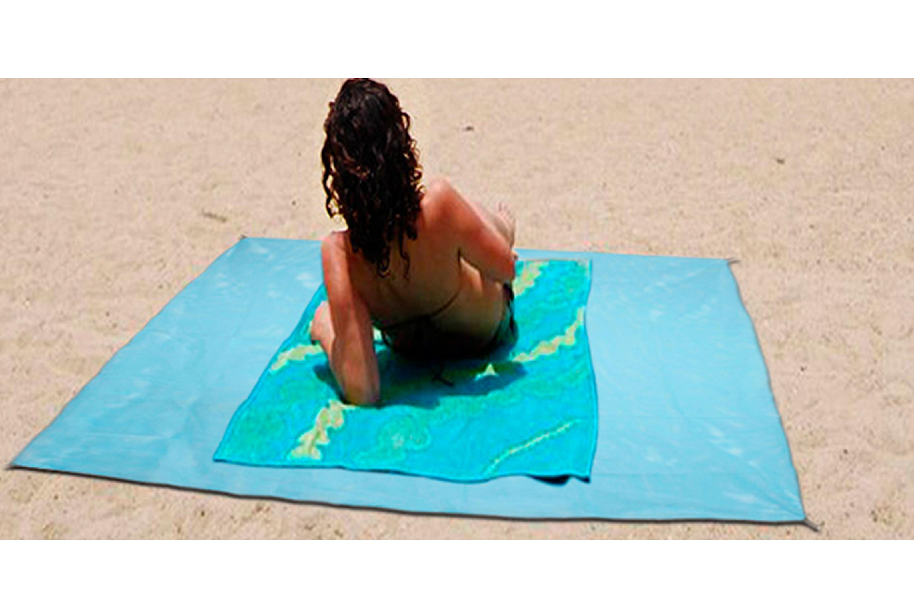 Det perfekte strandteppe