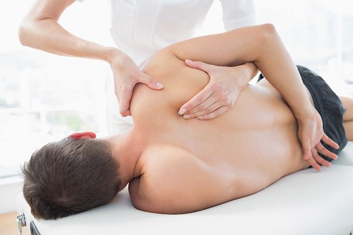 Medicinsk massage för muskulära besvär, 25 min