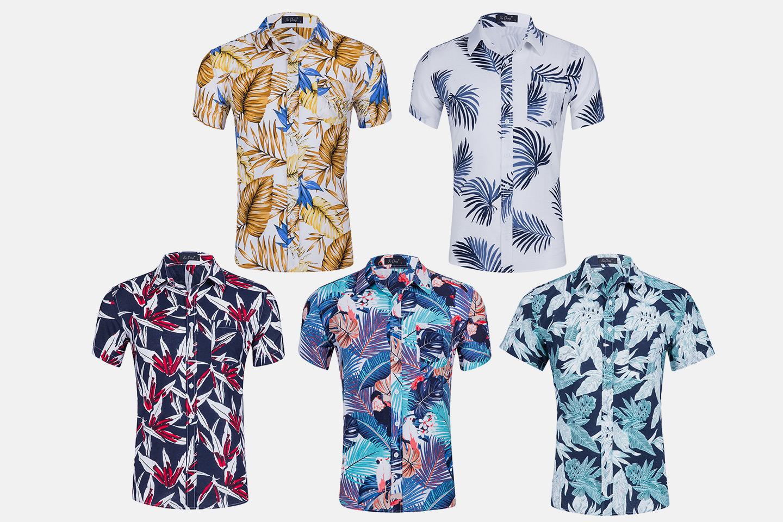 Sommerskjorte til herre (1 av 13)