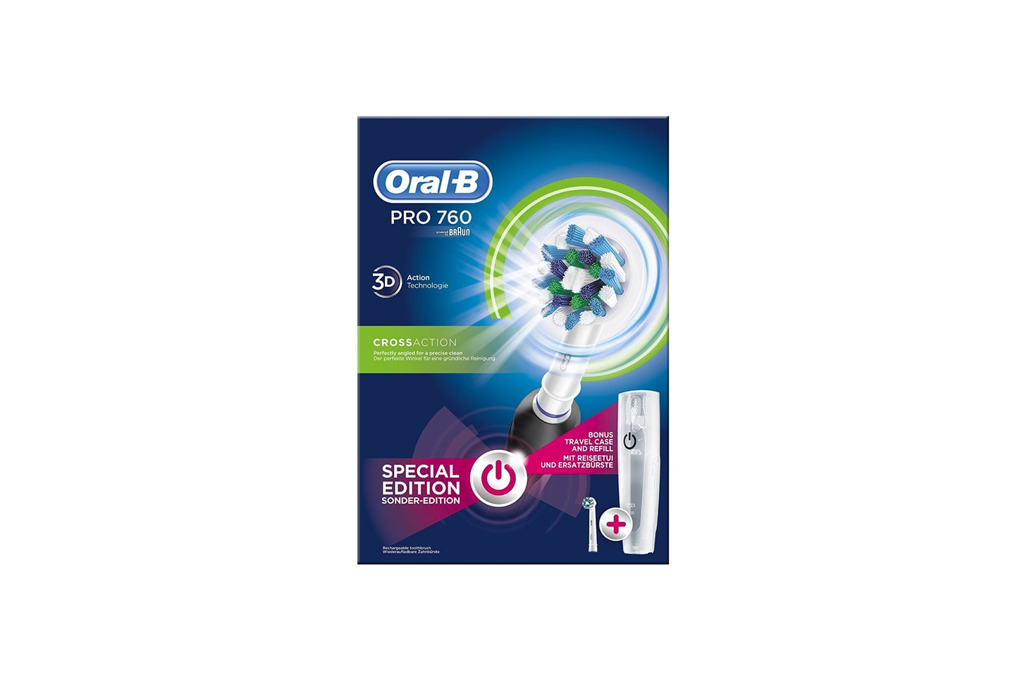 Braun Oral-B PRO 760 CrossAction elektrisk tannbørste