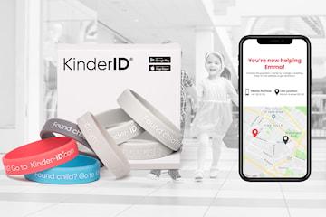 KinderID-säkerhetsarmband för barn