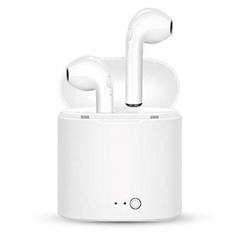 Vit, NEW! Ultra Mini Bluetooth Headphones, 2.0, Trådlösa hörlurar, ,