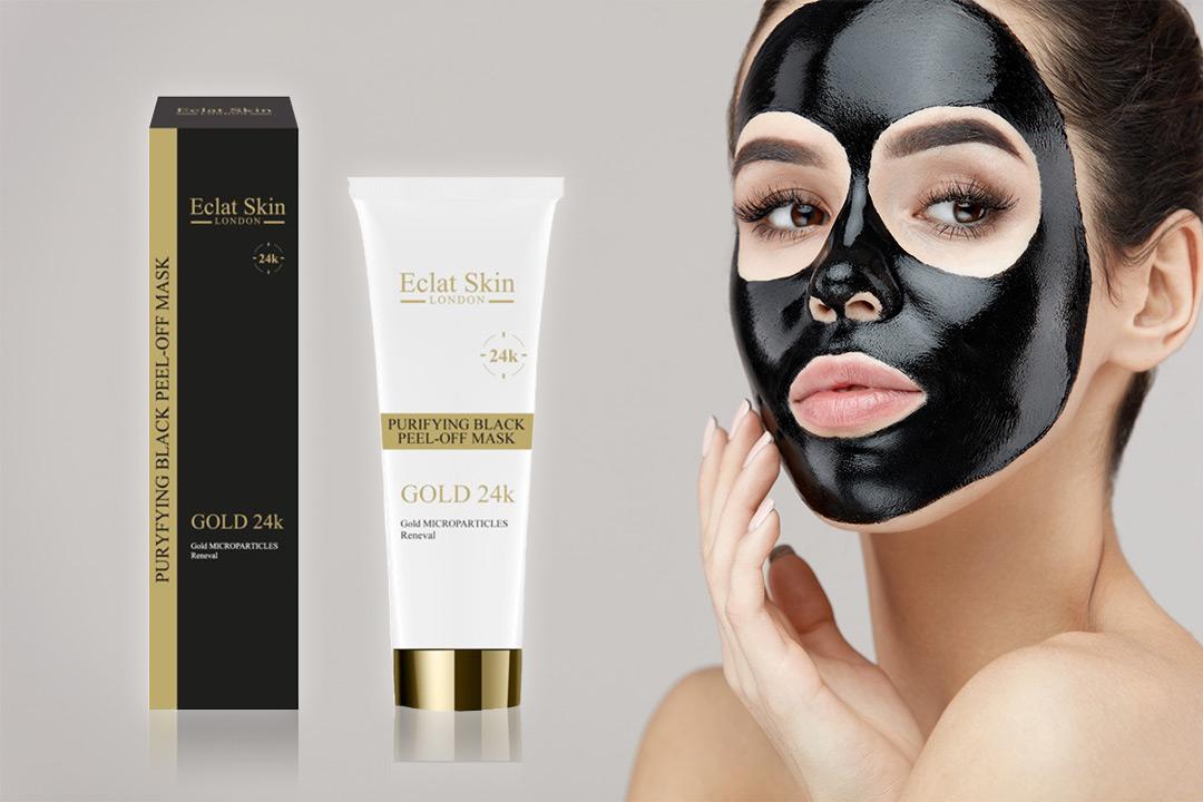 Purifying Black Peel-Off Mask 24K Gold (1 av 2)