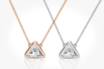 Halsband Bermuda med Swarovski-kristaller