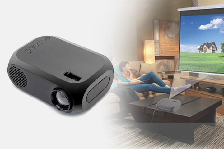 1080 HD mini-projektor