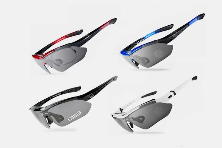 Polariserte solbriller for trening