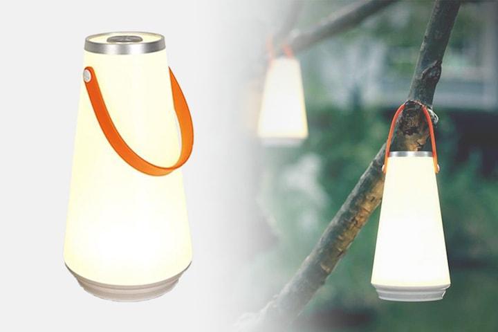 Oppladbar bærbar LED-lykt