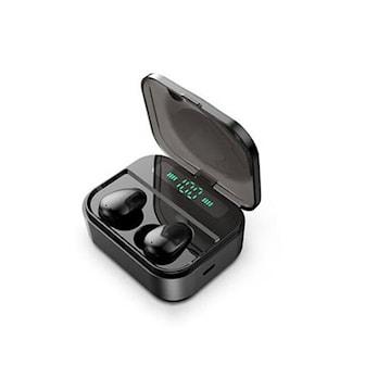 Svart, Touch TWS5.0 Earbud, Trådløse øreplugger med Smarttouch, ,