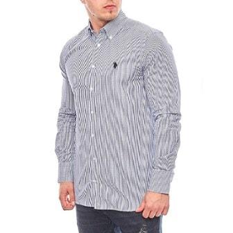 Checkered, M, US Polo Shirts, Skjorte fra US Polo Assn., ,
