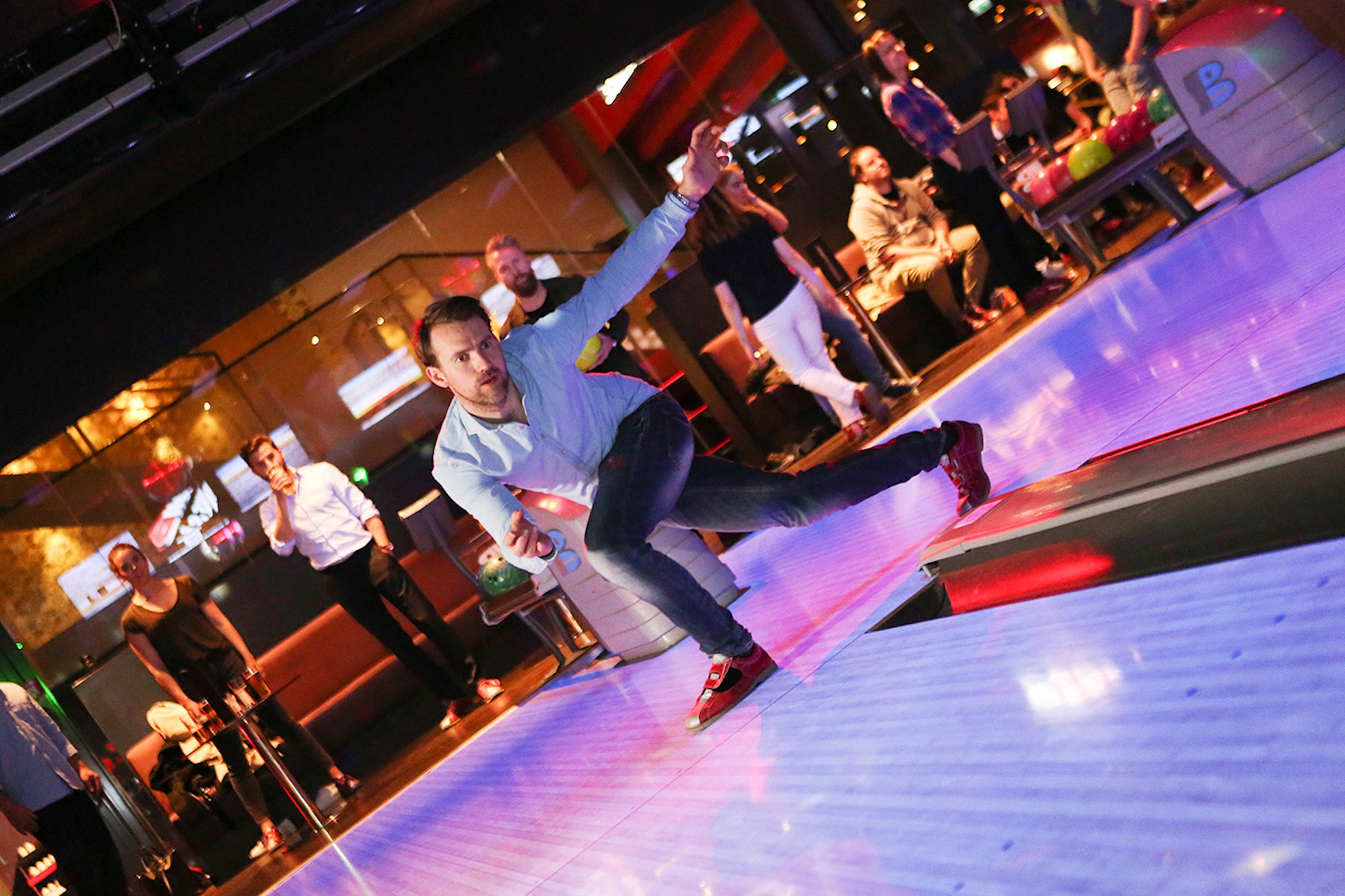 1 timme bowling hos Ballbreaker