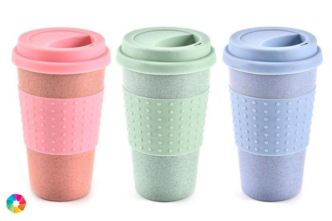 Miljövänlig kaffekopp, 350 ml (1 av 7)