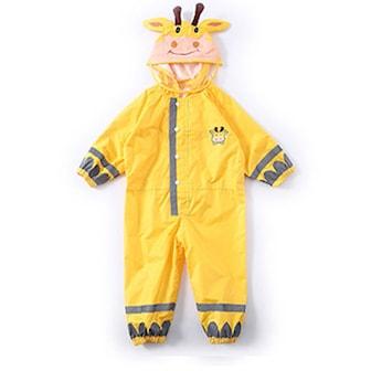 Gul, M, Rain Suit Kids, Regndrakt til barn, ,