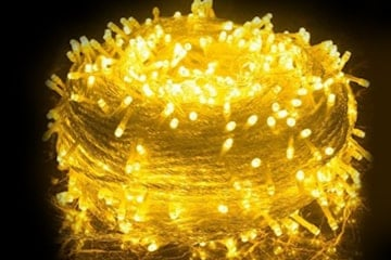 LED-ljusslinga med 200 dioder