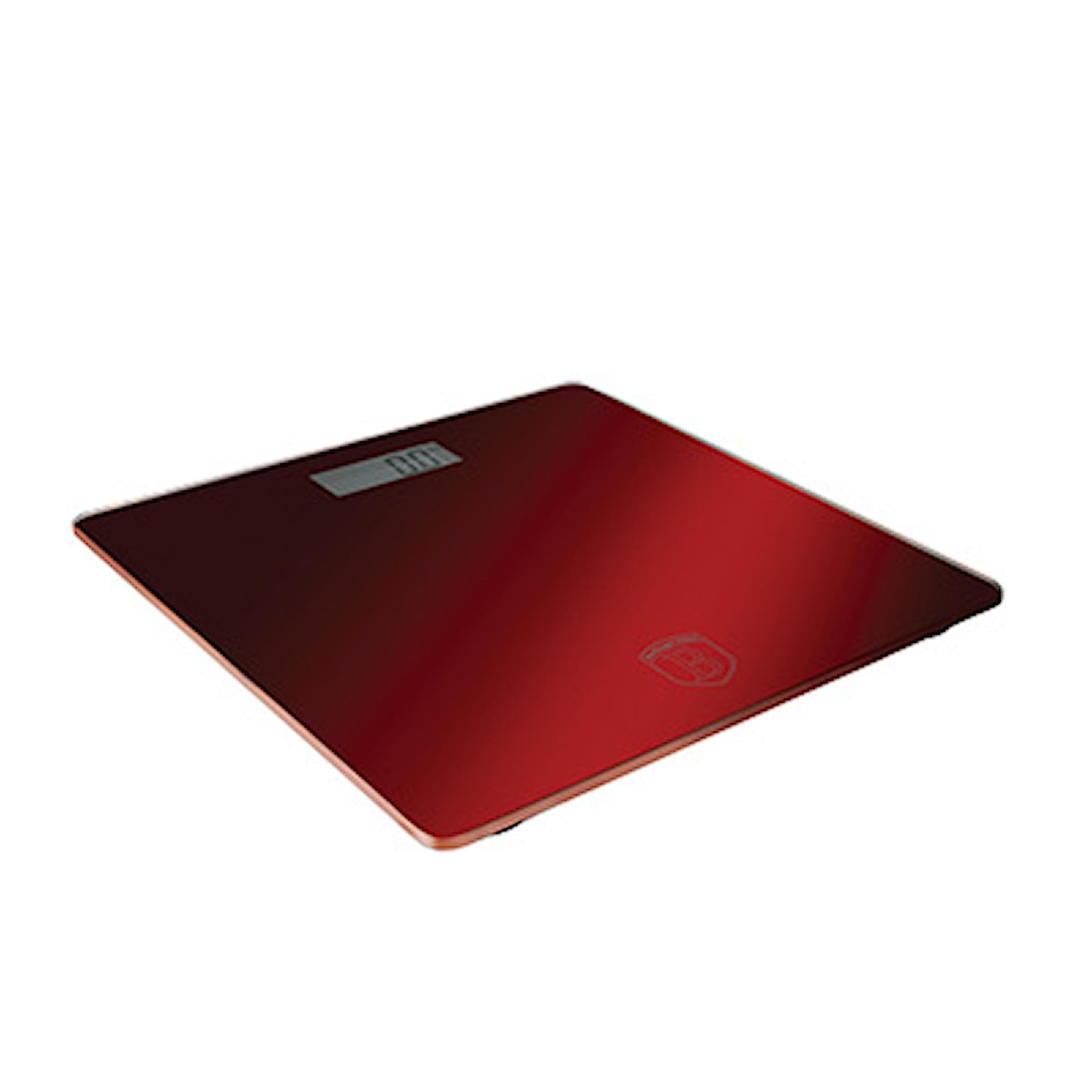 Burgundy Metallic, Digital Bathroom Scale, Capacity 150 kg, Digital badrumsvåg, ,