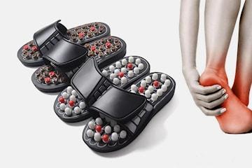 Sandaler med akupunktur fotmassasje