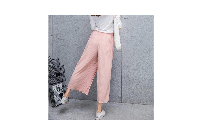 Plisserte bukser