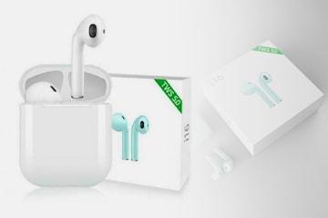 i16s mini in-ear hodetelefoner med Bluetooth 5.0