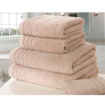 Brun, 6-pack Soft Towels, 6-pack myke håndklær, ,