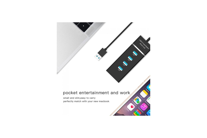 USB-nav med fyra portar