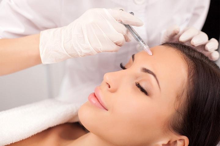 Gavekort til en verdi av 1000 kr på Botox for 1 område
