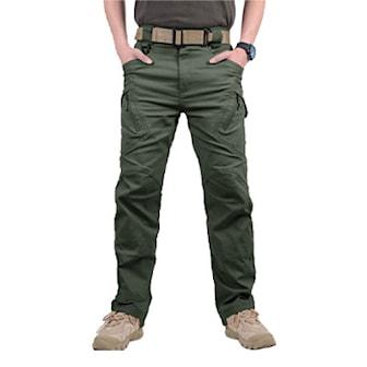 Armégrön, L, IX9 Cargo Tactical Pants, Praktiska byxor, ,