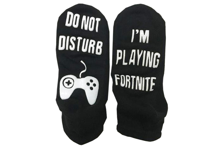 Ikke forstyrr Fortnite sokker
