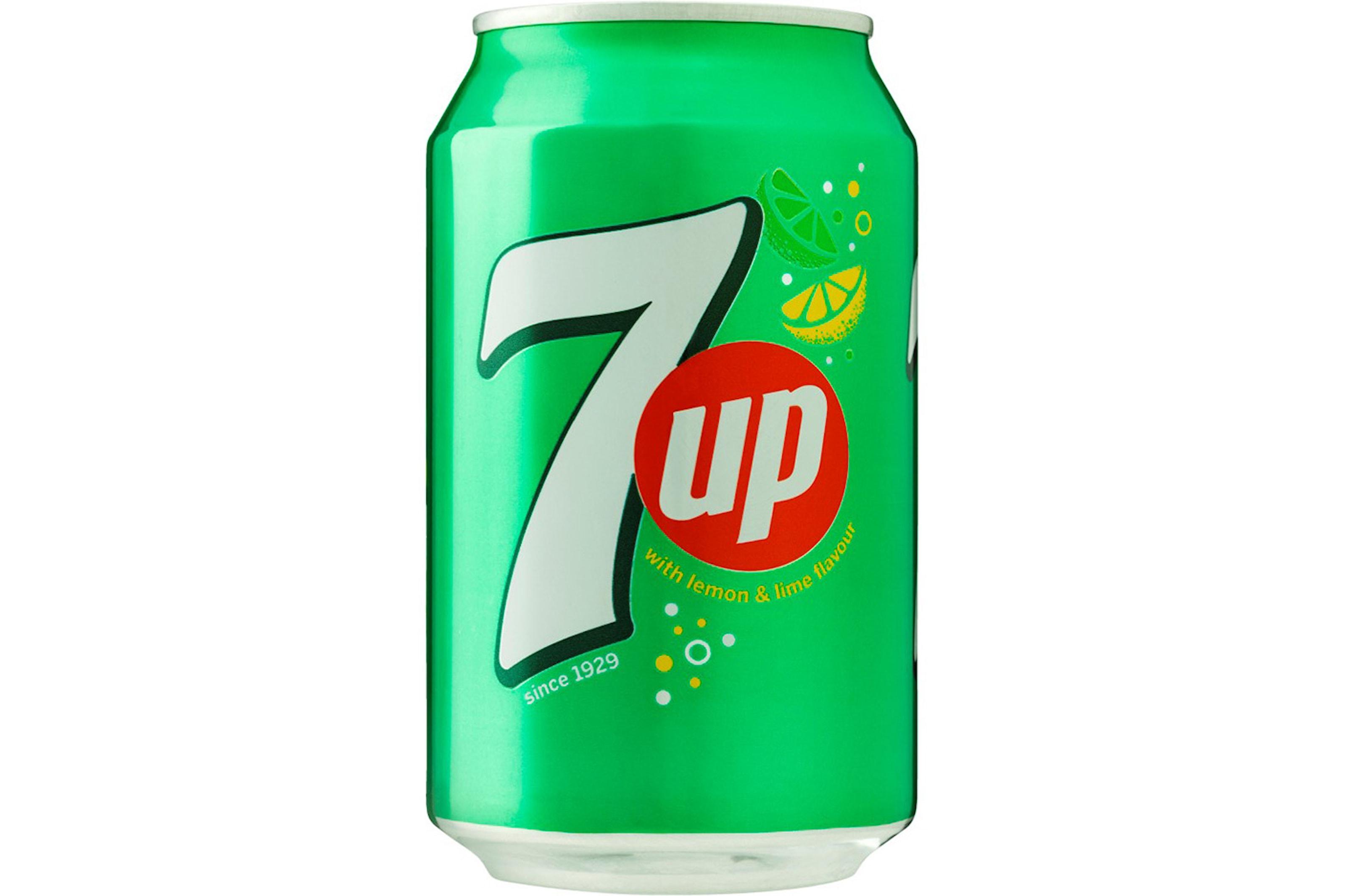 7UP - 72 bokser à 0,33L