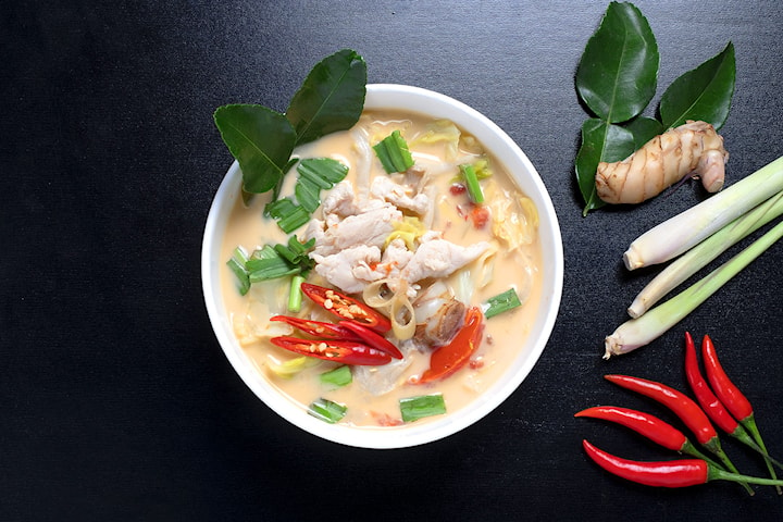 Valgfri takeaway rett hos Deilig Thai & Sushi